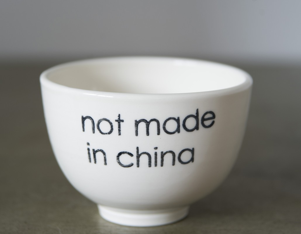 BOL À DEJEUNER NOT MADE IN CHINA